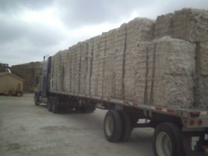 cotton bale load