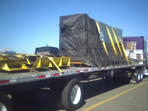 top heavy flatbed load
