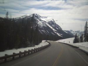 montana mountain snow cooke city mt. area