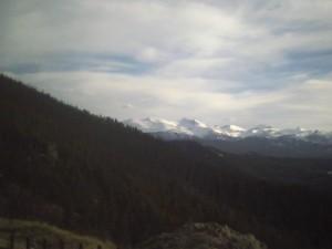 montana snow on mountains